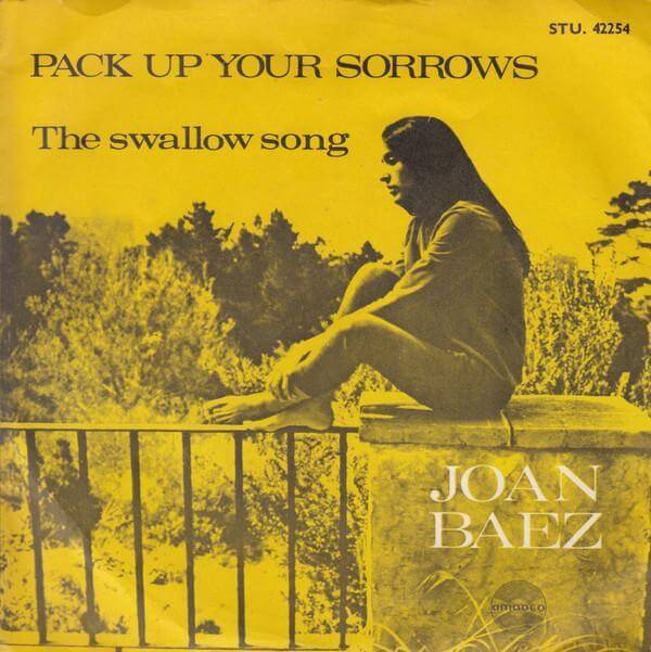 14  Joan Baez Pack Up Your Sorrows 1965